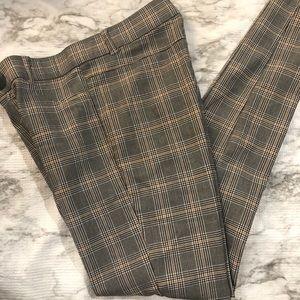 Zara plaid pants